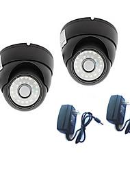 """2pack 540 ТВЛ 1/3 """"Sony CCD Водонепроницаемая Крытый купольная камера видеонаблюдения безопасности"""
