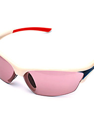 Sunglasses Men / Women / Unisex's Classic / Sports / Fashion / Sunglass Style Rectangle White Cycling Full-Rim