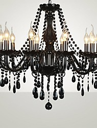 Max 60W Modern/Contemporary / Traditional/Classic / Country / Island Glass ChandeliersLiving Room / Bedroom / Dining Room / Kitchen /