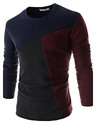 Men's  The Unique Design Of slim T-Shirt Long Sleeve