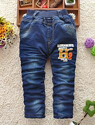 épais jeans en coton de garçon