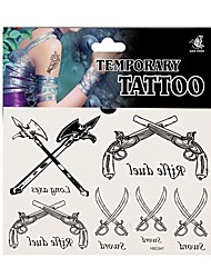 Fashion Temporary Tattoo Body Art Waterproof Stickers Safe Removable Multi Style  047
