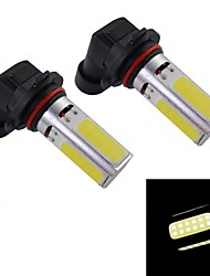 H8 10W 330~380LM 4-LED White Light Car Fog Lamp (2-Piece Pack)