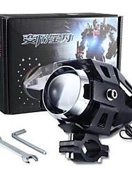 merdia u5 15w 3000lm 6500k 1SMD led laser a luce bianca pistola / lampadina spot / luce della decorazione per il motociclo (1piece / 12v-80V)