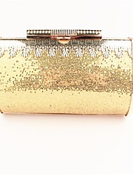 Women's Personality Metal Sequins Lace Evening Bag