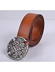 Men Waist Belt , Vintage/Work/Casual Alloy
