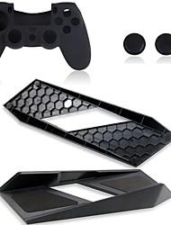 dauerhafte Magie vertikalen Ständer Halter mit Silikonhülle für Sony PS4 playstation Konsolenspiele