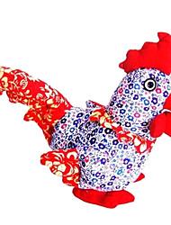 style chinois bleu poussin de pâques
