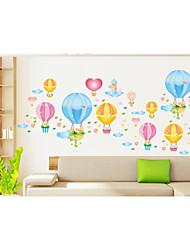 Wall Stickers Wall Decals, Style Colorful Balloons PVC Wall Stickers