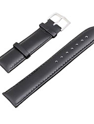 22mm PU Leather Watch Replacement Band Strap Watchband Black Cool Watch Unique Watch Fashion Watch