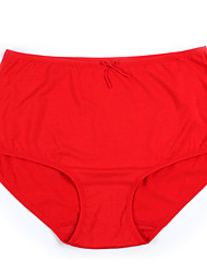 Pulishi Modal Half Waist Solid Color Lady Panty