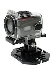 ricco fotocamera Sport HD 720p HD a 30 fps a 120 ° grandangolare sostegno dell'obiettivo 3 metri impermeabile
