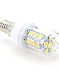 3W E14 Bombillas LED de Mazorca T 27 SMD 5050 200 lm Blanco Cálido AC 100-240 V