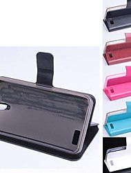 Fashion Quality Design Artificial Leather with Card Slot for Lenovo A319