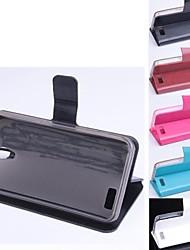 la conception de la qualité de la mode cuir artificiel avec fente pour carte pour Lenovo A319