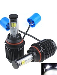 CONQUER®2PCS 9007 20W High Brightness High Power CREE LED Headlight Headlamp for Car