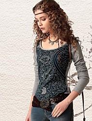 Women's Ethnic Tie-dye Print Cotton T-Shirt