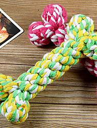 Rope Textile Chew Toys For Dog(Random Color)