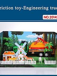 altíssima qualidade para carro de brinquedo caminhão crianças atrito conjunto com ferramentas do tema da fazenda 20142-6