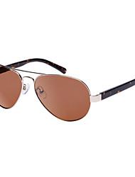 Wangcl Polarized Aviator Acetate Retro Sunglasses