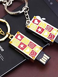 Amotaios - AMO-UF132(32G) - Flash Pen Drive - 32Go - USB 2.0 - Porte-clés/Style Métallique/Cristal