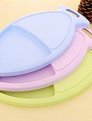 50 pcs Vente en gros en plastique de planche à découper épaissie, plastique 37,5 × 21 × 2 cm (14,8 × 8,3 × 0,8 pouces) couleur aléatoire