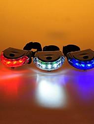 Luzes de Bicicleta / Luz Traseira Para Bicicleta LED Ciclismo alarme / backlight / Fácil de Transportar AAA Lumens Bateria Ciclismo-FJQXZ®
