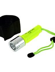 аккумуляторная светодиодный водонепроницаемый дайвинг фонарик браслет Фонарь 1600lm