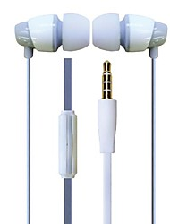 GOFO Headphone 3.5mm In Ear with Microphone Volume Control for iPhone 6/Puls/Samsung/MI/LG/HTC Or Other Mobile Phone