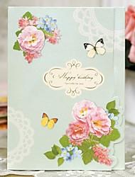 Stereo Display Dielianhua Mini Birthday Card(10.5*14.5cm)