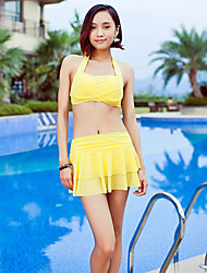 Sanqi Women's Classic Push-up Bikini Swimming Suit