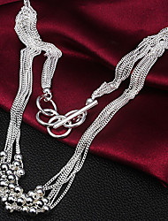Cookies Women's Fashion Korea Style Silvering Necklace