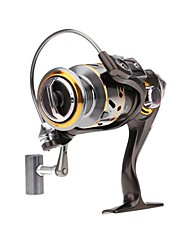 Fishing Reel Spinning Reels 5.2:1 12 Ball Bearings Exchangable Freshwater Fishing - DK3000
