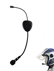 nouvelle oreillette Bluetooth 3.0 casque vnetphone pour la moto (noir)