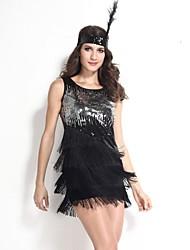 Costumes - Déguisements burlesques/Plus de costumes/Costumes de carrière - Féminin - Carnaval - Robe/Bandeau
