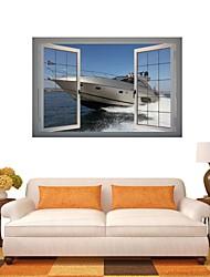 3d Stickers muraux stickers muraux, yacht décor vinyle stickers muraux