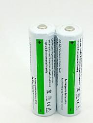 icr 18650 3.7v li-ion recargable 2600mah (2pcs)