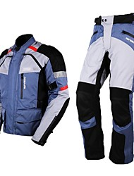 Motoboy Motorcycle Professional Adventure Touring 3 Layer Waterproof Windproof Warm Jacket&Pant Set with CE Protectors