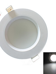 zweihnder проводки 7w 600lm 5500-6000k 18x5730 SMD светодиодов белого света потолочный светильник (AC 220-240В)