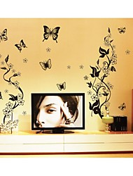 Wall Stickers Wall Decals, Style Butterfly Fly PVC Wall Stickers