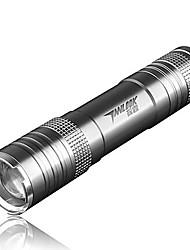 Torce LED (Messa a fuoco regolabile / Ricaricabile) - LED Modo 250 Lumens 18650 Cree Q5 Batteria / DC -