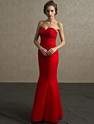 Formal Evening Dress - Ruby Petite Sheath/Column Sweetheart Floor-length