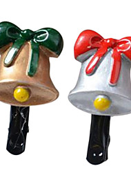 Girl's Christams Bell Hair Clips