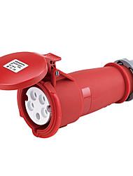 HENNEPPS HN1245 Waterproof Industrial Connector Female Industrial Socket CE 400V 50A 3P+N+E IP44 6H 10-16mm²