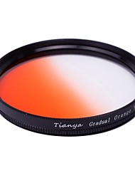 TIANYA® 58mm Circular Graduated Orange Filter for Canon 650D 700D 600D 550D 500D 60D 18-55mm Lens