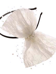 Fashion White Fabric Headbands For Women