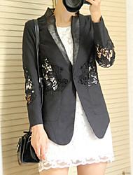 estilo de trabajo de las mujeres chaqueta delgada 40