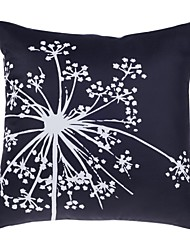 "Modern 18"" Square Floral Pillow Cover/Pillow With Insert"