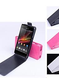 Mode-Design-Qualität Kunstleder für Sony Xperia m