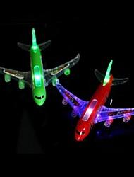 piscar de avião de controle remoto (cor aleatória)